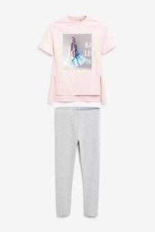 Ballerina T-Shirt Set (3-16yrs)