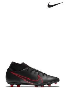 Nike Black Mercurial Superfly 7 Club Multi Ground Football Boots