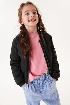 Shower Resistant Bomber Jacket (2-16yrs)