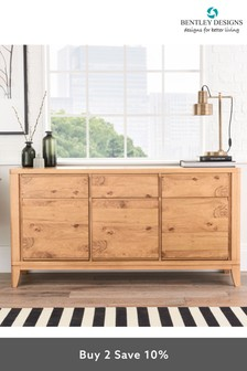 High Park Wide Sideboard by Bentley Designs