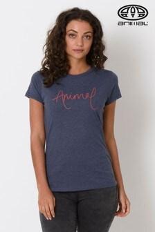 Animal Blue Lowgo Graphic T-Shirt