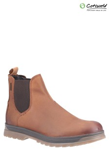 Cotswold Brown Winchcombe Chelsea Boots