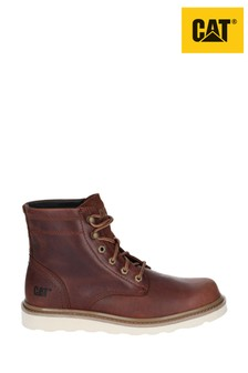CAT® Lifestyle Brown Chronicle Lace-Up Boots
