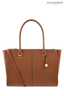 Accessorize Tan Lenny Tote