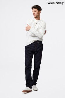 White Stuff Rinse Wash Davis Straight Zip Fly Jeans