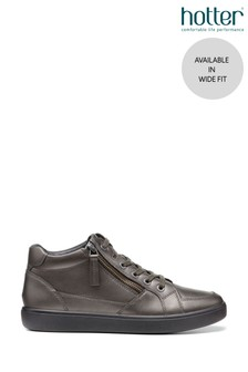 Hotter Rapid Wide Fit Lace-Up High Top Shoes