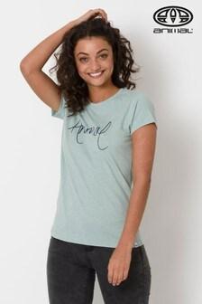 Animal Green Lowgo Graphic T-Shirt