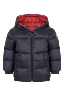 Baby Boys Navy Down Padded New Macaire Jacket