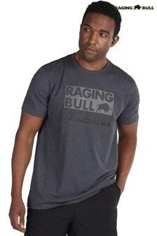 Raging Bull Grey Casual T-Shirt