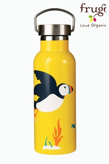 Frugi Yellow Large Steel Water Bottle
