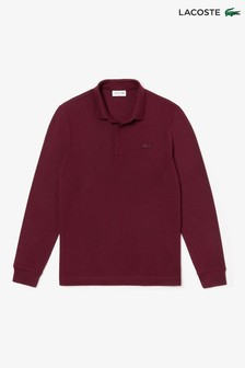 Lacoste® Paris Long Sleeve Polo