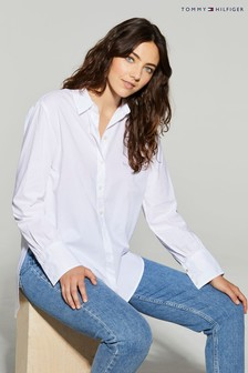 Tommy Hilfiger White Lacie Girlfriend Shirt