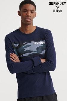 Superdry Core Logo Camo Stripe T-Shirt