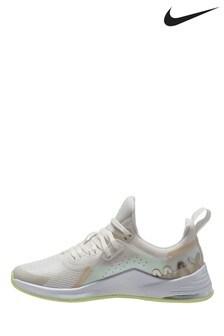 Nike White/Lilac Air Bella 3 Trainers