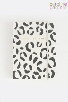 Caroline Gardner Leopard Small Chunky Notebook