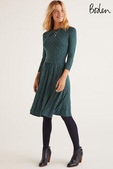 Boden Green Mira Jersey Dress