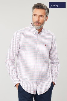 Joules White Welford Classic Check Shirt