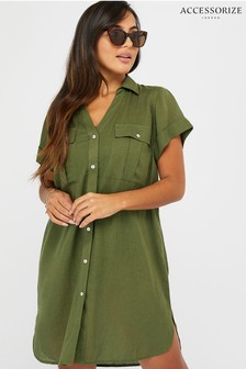 Accessorize Green Beach Shirt