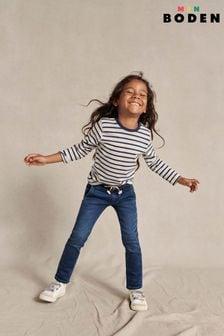 Mini Boden Denim Jersey Skinny Jeans