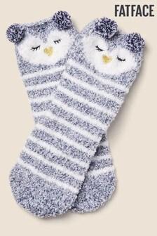 Huňaté ponožky s tučniakom FatFace