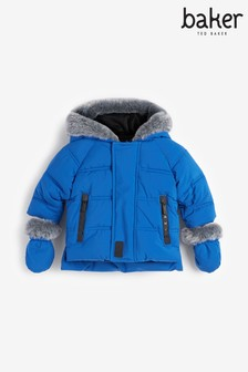 Baby Boys Padded Coat