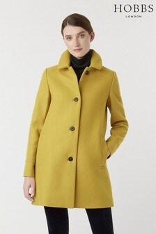 Hobbs Yellow Fia Coat