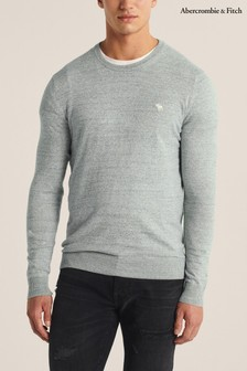 Abercrombie & Fitch Mint Knit Crew Sweater