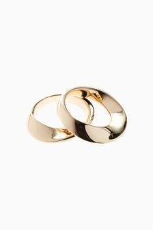 Silhouette Rings Two Pack