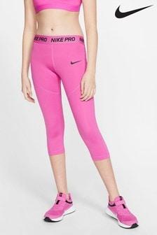 Nike Pro Pink Capri Leggings