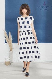 Seasalt White Studio Visit Skirt