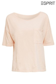 Esprit Orange Casual T-Shirt