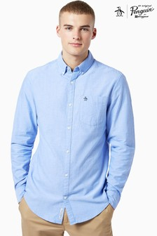 Original Penguin® Blue Cotton Oxford Shirt