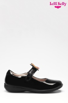 Lelli Kelly Black Patent Princess Shoes