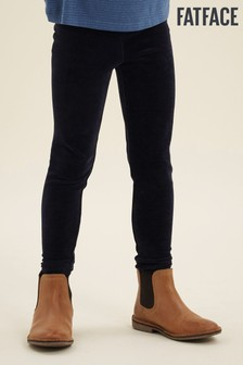 FatFace Velvet Plain Leggings
