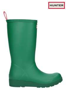 Hunter Green Original Play Tall Wellington Boots