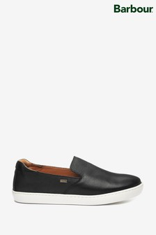 Barbour® Leather Sydney Slip-On Trainers