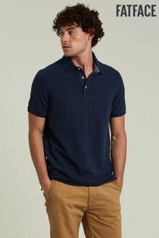 FatFace Blue Ely Pique Poloshirt