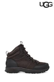 UGG® Brown Emmett Lace-Up Hiker Boots