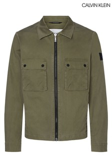 Calvin Klein Green Shirt Jacket