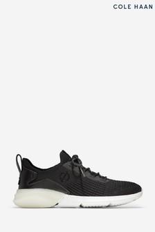 Cole Haan Black Zerogrand Stitchlite Lace-Up Runner Trainers
