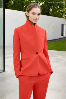 Красный пиджак фасонного кроя French Connection Adisa Sundae