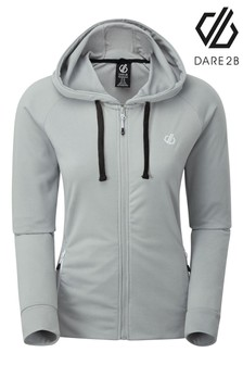 Dare 2b Grey Enacy Hooded Fleece