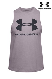 Under Armour Sportstyle Logo Tank Top