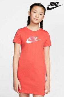 Nike Red Futura T-Shirt Dress