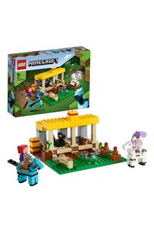 LEGO 21171 Minecraft The Horse Stable Farm Toy With Figures