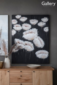 Midnight Poppies Canvas by Gallery Direct