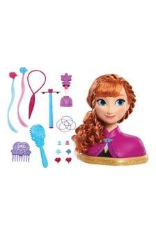 Frozen Deluxe Anna Styling Head