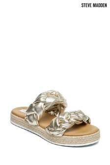 Steve Madden Gold Kirsi Sandals