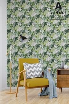 Samara Leaf Wallpaper by A Street