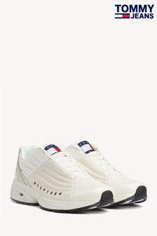 Tommy Jeans White Heritage Trainers